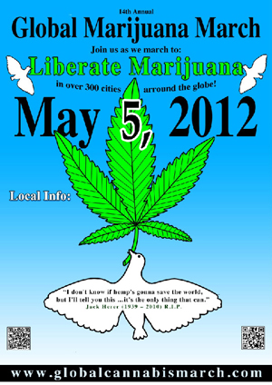 Global Cannabis March